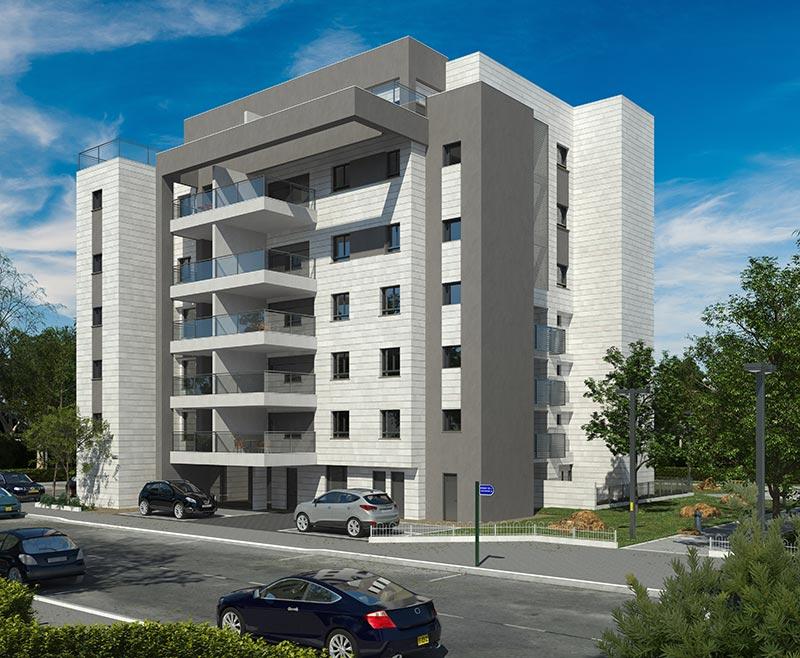 בביצוע - המכירה בעיצומה! בניין בן 24 דירות המתפרש על שטח גדול באחד הרחובות המרווחים בעיר.